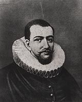 Henry Hudson: In 1609 Hudson sails up the Hudson River in search of the Northwest Passage