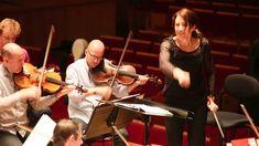 Alondra de la Parra en répétition avec l'Orchestre de Paris +++++ fab conductor