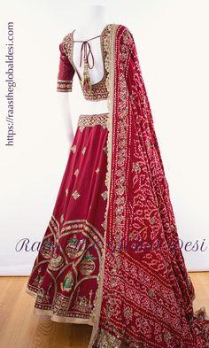 Bridal Lehenga Online, Bridal Lehenga Choli, Wedding Lehenga Designs, Kurti Designs Party Wear, Indian Bridal Outfits, Indian Fashion Dresses, Choli Designs, Saree Blouse Designs, Rajasthani Lehenga