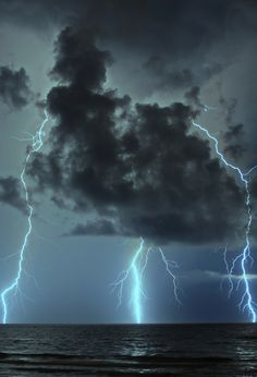Divination P33 Sky Divination Lightning If you've asked a specific question it's answered in the same manner: to the left, no; to the right, yes. If it appears directly overhead, no answer can be given at this time.