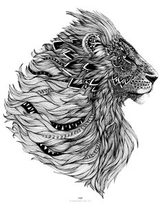 Lion - alexetmarine.fr