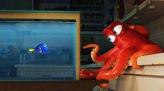 Watch the trailer for Disney and Pixar's film.: Watch the trailer for Disney and Pixar's film 'Finding Dory' Walt Disney Animation, Disney Pixar, Disney And Dreamworks, Disney Facts, Funny Disney, Disney Bound, Disney Memes, Film Pixar, Pixar Movies