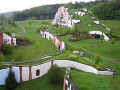 Hundertwasser – lékař architektury - stavba - Životní Styl