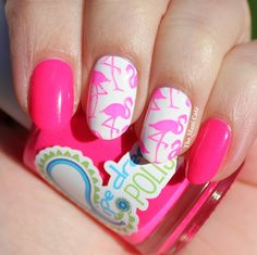 The Mani Café: Pink Flamingoes - Pipe Dream Polish - On The List
