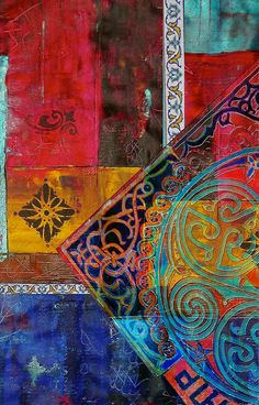 DesertRose///Mixed Motifs Painting