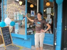 Amy Scherber, Amys Breads new localization, 34th St and 48th Avenue, Long Island Citys called 'flour district.'