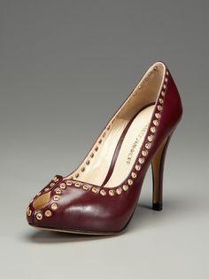 Bella Peep-Toe Pump by Rebecca Minkoff on Gilt.com  shoe speaks for itself.
