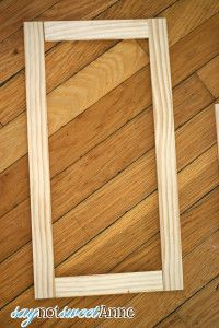 New Diy Wood Picture Frames Tutorials How To Build Ideas Build A Picture Frame, Picture On Wood, Picture Frame Projects, Frame Crafts, Diy Frame, How To Make Frames, Diy Wood Projects, Teen Projects, Diy Canvas