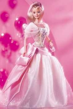 Birthday Wishes Barbie Doll - 1999 Birthday Wishes Series - Barbie Collector