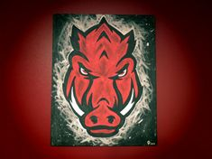 Arkansas Razorback NEW Logo by CreativiTreat on Etsy