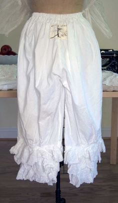 Magnolia Pearl Organic Cotton Idgie Bloomers with Eyelet Ruffles  $275 by Society Hill Designs