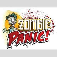 Zombie Panic! Print and Play game | Handmade Family
