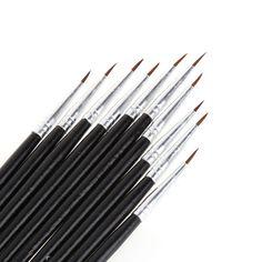 Paint Brushes Set Di Artista Acrilico Pittura A Olio Acqua Colore Craft Pennello UK