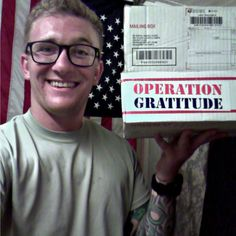 Is your loved one deployed? Request an Operation Gratitude care package today: https://www.operationgratitude.com/request-a-package/individual-requests-form/
