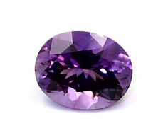 amethysts with photos | 96ct. Amethyst : 11x 9mm Oval. (ShaverL.)