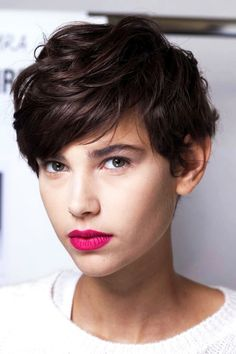 20 Le Fashion Blog 20 Inspiring Short Hairstyles Backstage Model Pixie Cut Bright Pink Lipstick Via Elle France photo 20-Le-Fashion-Blog-20-Inspiring-Short-Hairstyles-Backstage-Model-Pixie-Cut-Bright-Pink-Lipstick-Via-Elle-France.jpg
