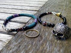 www.lorgjewellery.com    #skulls #samcro #jewellery #rings #bracelets #boho rocker chic