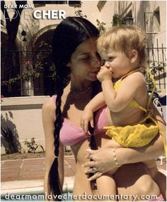 Cher and Chaz (born March 1969) at the former Tony Curtis house. Find out about Chaz's awesome grandma in DEAR MOM, LOVE CHER.