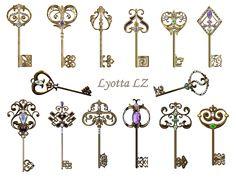 keys by Lyotta.deviantart.com on @DeviantArt