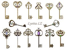 keys by Lyotta.deviantart.com on @DeviantArt