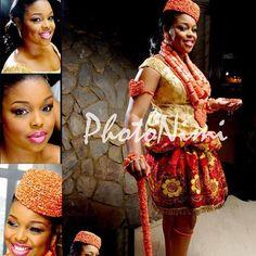 Photonimi Nigerian Wedding: 20 Beautiful Rivers/ Ijaw Brides, Their Style, & Their Flawless Makeovers | Nigerian Wedding