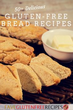 50+ Delicious Gluten-Free Bread Recipes | Whether you're looking for homemade bread recipes or roll recipes, this gluten free recipe collection has you covered!