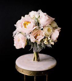 Wedding+Ideas:+peony-rose-dusty-miller-ranunculus-bridal-bouquet-white-pink-gray-grey