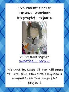 Biography Project--Five Pocket Person