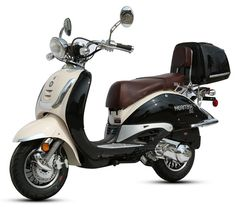 $1499.00  two toned / CARB Approved BMS Heritage 150cc Scooter Special Edition / bobcatsMotorsports.com / free helmet/ free ship