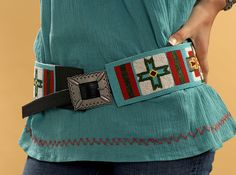 Double D Ranch Ahwahnee Beaded Belt from Smith and Western