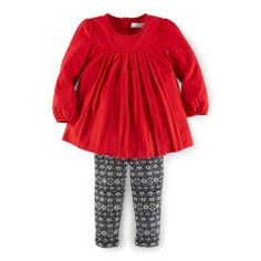 Pleated Tunic & Legging Set - Baby Girl Outfits & Gift Sets - RalphLauren.com