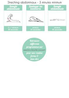 """Challenge """"six pack"""" abdominaux & stretching - Partie 3"""