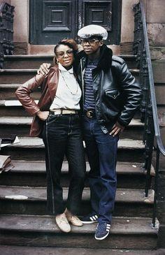 The early 80's via Jamal Shabazz.