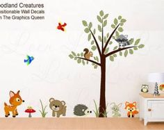 Image result for wall decals woodlands