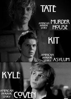 Tate,kit,Kyle ahs