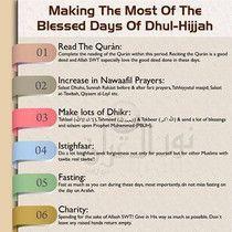 10 days of dhul hijjah - Google Search