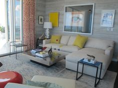 My favorite room at the @elledecor show house at paramount bay in miami