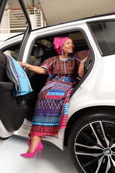 African Dresses For Women, African Print Dresses, African Fashion Dresses, Ankara Fashion, African Prints, African Fashion Traditional, Traditional Outfits, Traditional Wedding, Xhosa Attire