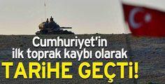 #YeniTürkiyeninDoğumGünü Hayaldi, AKP ile gerçek oldu ; Cumuriyet tarihinin ilk toprak kaybı
