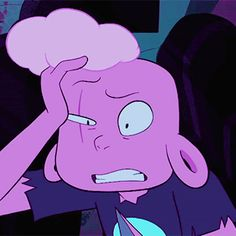 Steven resurrected Lars and he is pink like lion