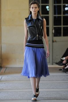 """""""Flou"""" - meaning ethereal or floaty (the skirt that's the example here is by Bouchra Jarrar)"""