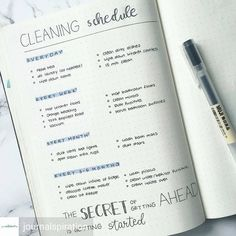 These bullet journal cleaning schedule ideas will have you inspired and ready to take on any cleaning task. Organized by day, week, month, and...