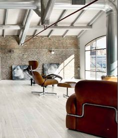 Spaces . . . Interior Design House Home Architecture Art Decorating Furniture Contemporary Vintage Modern Antique Minimalism NYC Loft Real Estate Eames