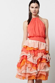 9ebe72aa5e90 Lilian Halter Dress-Lilian Halter Dress. Capsule collection at  Anthropologie. Rope Halter,
