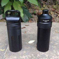 Waterproof Case Aluminum Container Capsule Seal Bottle Holder
