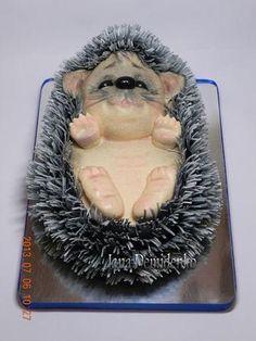 торт - ежик