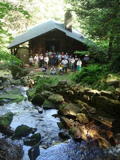 This Place Matters.  Saving Places, Preservation Nation by David Kimmerly 6.24.2009 at the Bordner Cabin.