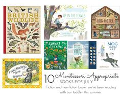 Our favourite toddler books this summer. What we liked, what we didn't and a glimpse inside each one. Reviews by Mum (age 29) & Alfie (age 22 months). Montessori Books, Summer Books, Toddler Books, S Pic, Nonfiction Books, Children's Books, Outdoor Activities, Storytelling, Toddlers