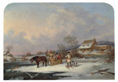 Cornelius David Krieghoff's Quebec Farm to auction in London