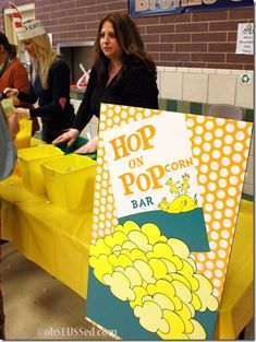 Hop on Popcorn Bar for a Dr. Seuss themed party